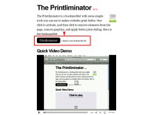 Printliminator bookmark
