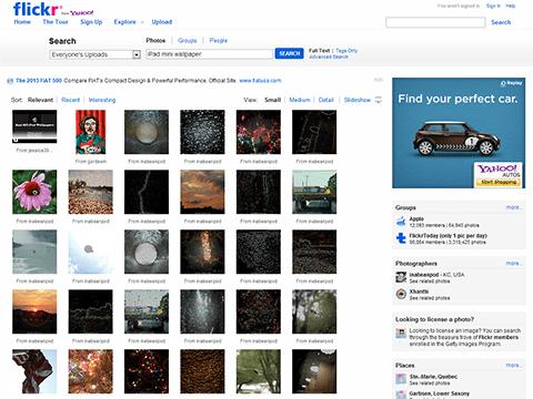 iPad mini wallpaper - Flickr Search