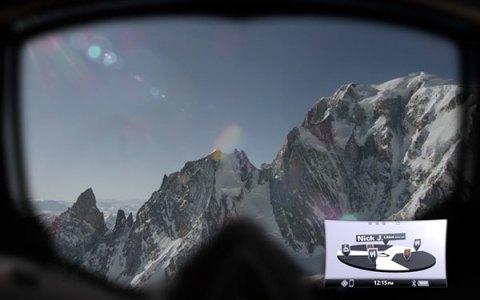 ヘッドアップディスプレイ GPS機能