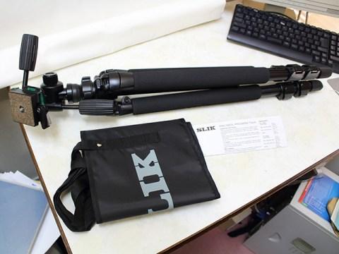 SLIK PRO580DX 付属品