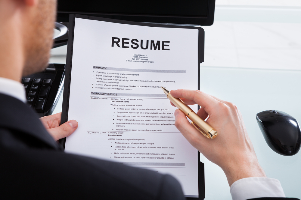 Building a professional resume - Extension Daily