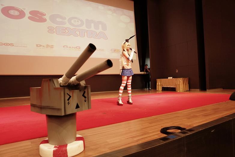 台湾coser ely 参加泰国coscom:extra活动纪录