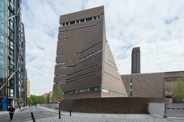 The new Tate Modern, by Herzog & de Meuron. Courtesy of Tate Modern, Photo by ©Iwan Baan
