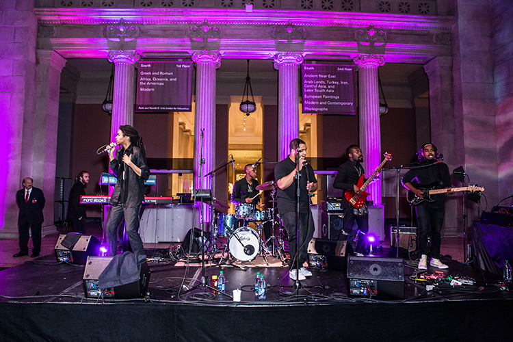 Phony Ppl performance at the Met: Young Members Party 2016. Courtesy of Sam Deitch/BFA.