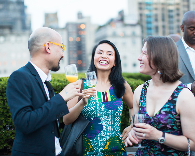 Guests at the Met: Young Members Party 2016. Courtesy of Sam Deitch/BFA.