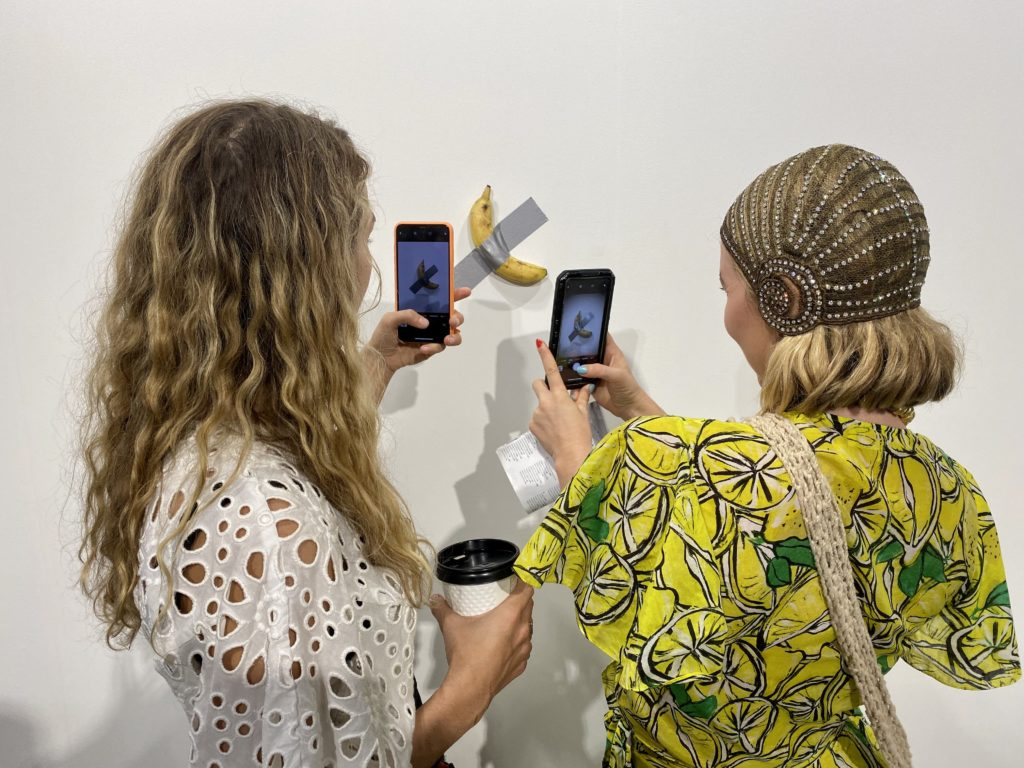 Maurizio Cattelan Is Taping Bananas To A Wall At Art Basel Miami Beach And Selling Them For 120 000 Each Artnet News