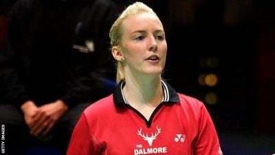 BBC Sport - Scots Imogen Bankier and Susan Egelstaff make GB badminton squad