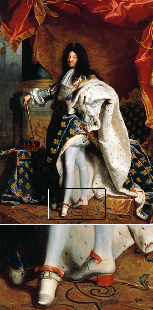 Louis XIV painted in 1701 by Hyacinthe Rigaud (Getty Images)