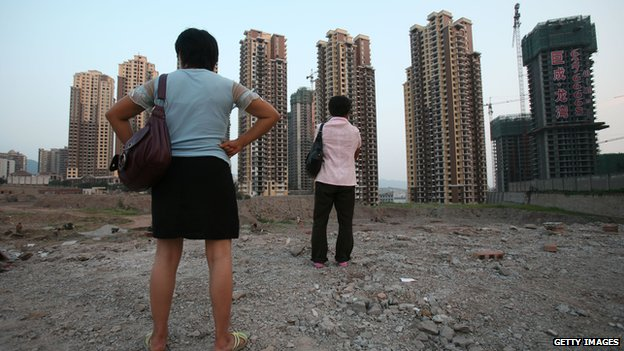 Chinese property construction