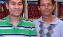 Benjamin F. Cravatt, PhD (right), is chairman of the Department of Chemical Physiology, professor in the Dorris Neuroscience Center and member of the Skaggs Institute for Chemical Biology at The Scripps Research Institute. Ken Hsu, PhD (left), is a Hewitt Foundation postdoctoral researcher in the Cravatt laboratory. (Photo courtesy of The Scripps Research Institute.)