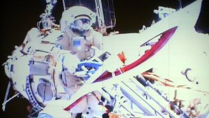 olymic torch space