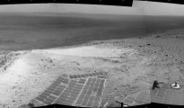 mars rover on top
