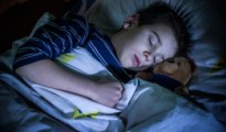 sleeping kid