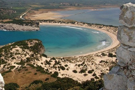 Bucht auf Peloponnes