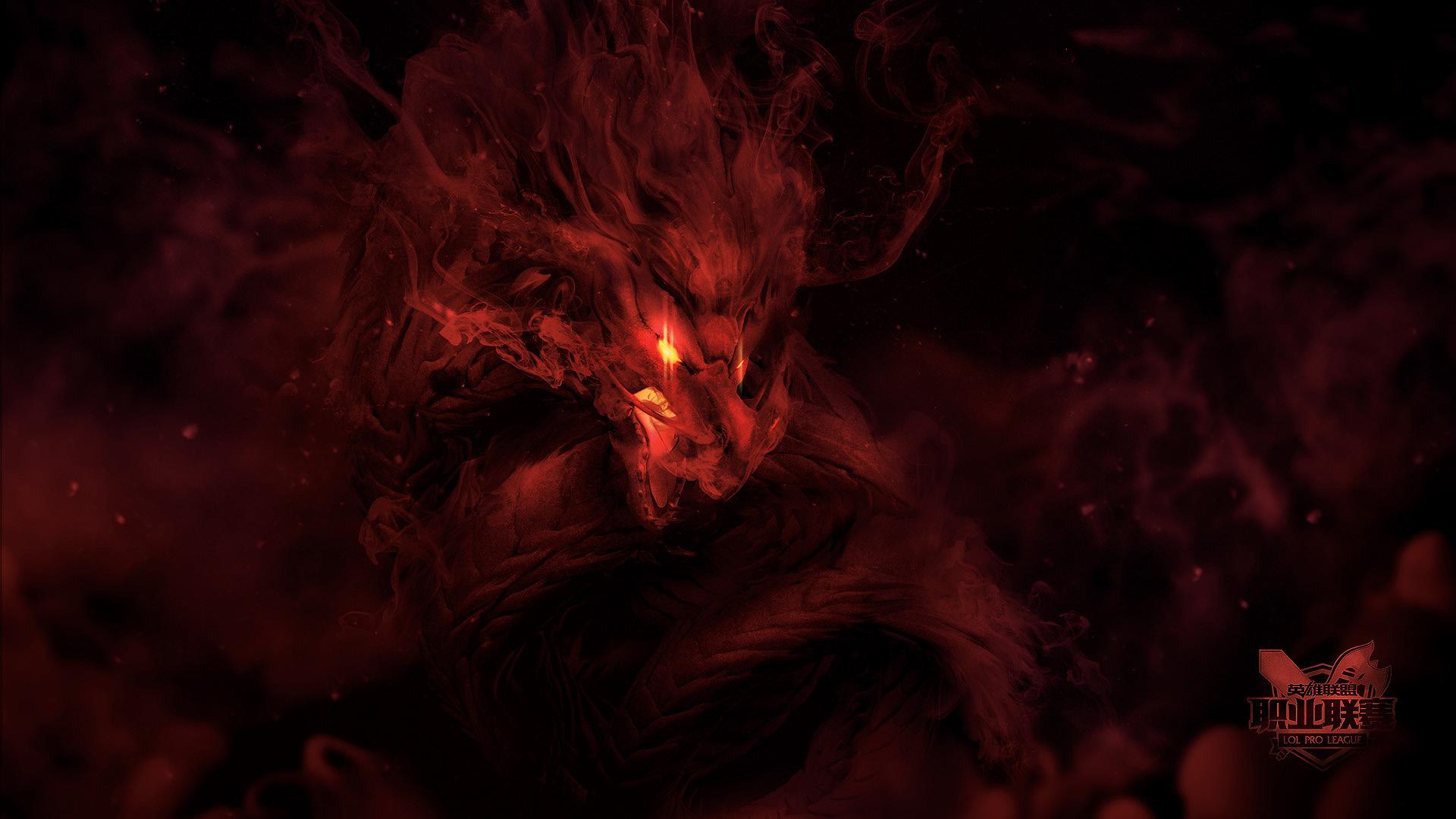Red Devil Hd Wallpaper Lol Esports