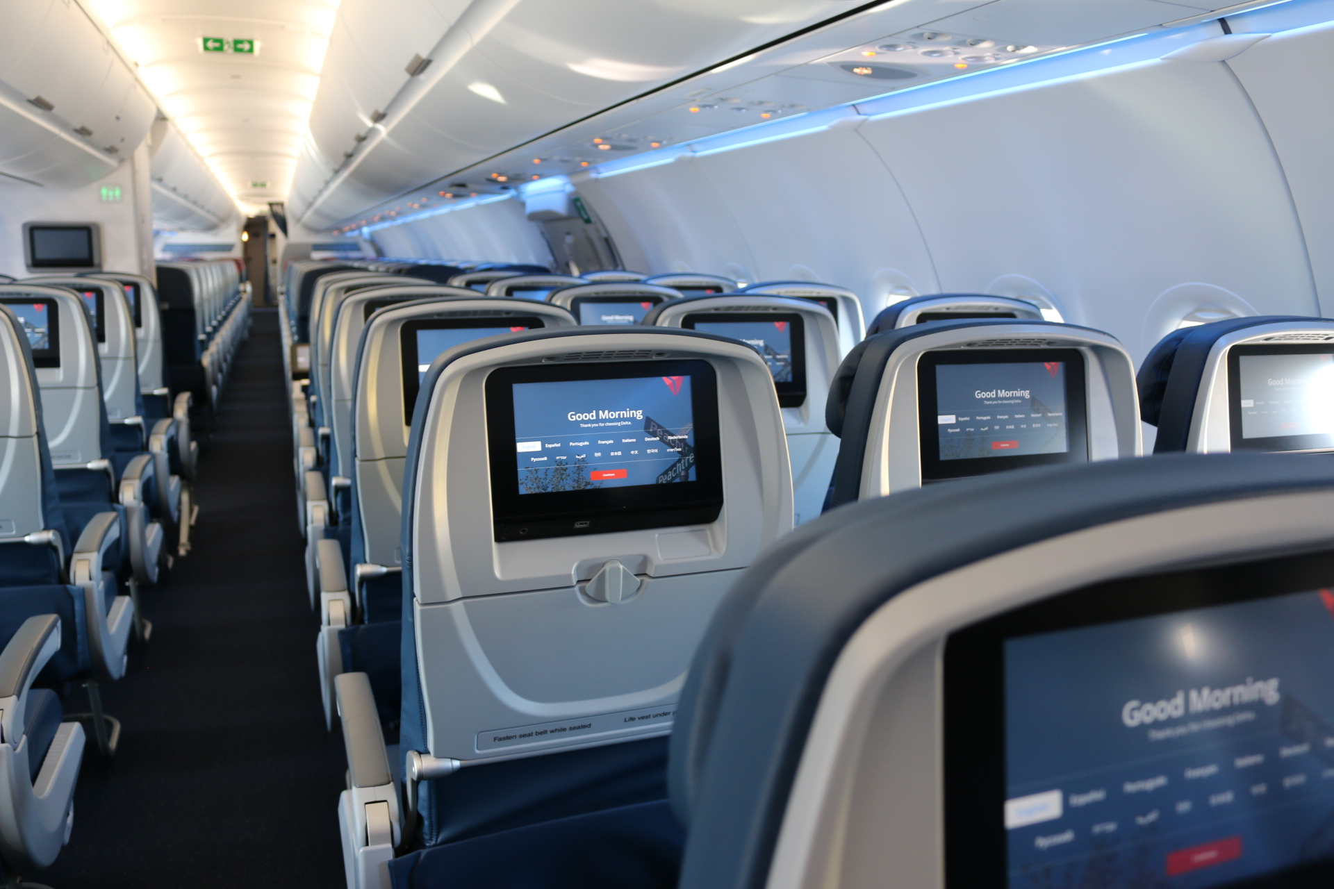 A321 First Look New Cabin For A New Aircraft Delta News Hub