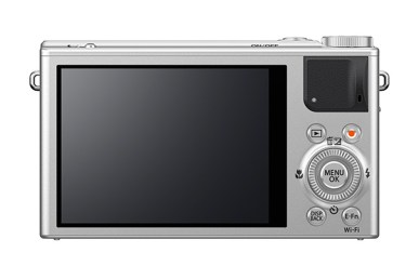 Fujifilm XQ1 back (silver version)