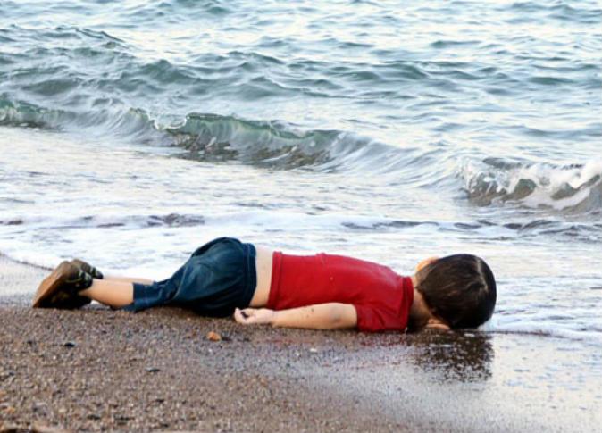 ايلان الطفل السوري الغريق