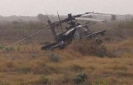 سقوط طائرة مروحية نتيجة خلل فني ونجاة طاقمها في مأرب