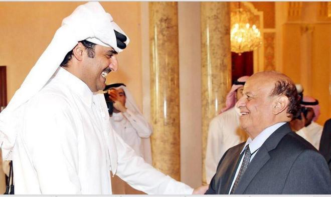 لقاء تميم مع عبدربة