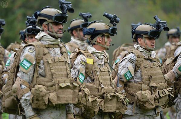 قوات النخبة السعودية