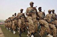 سفينة حربية عملاقة للتحالف تنقل القوات السودانية الي اليمن
