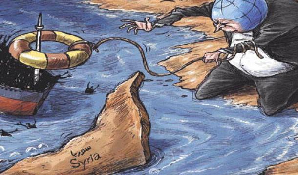 كاريكاتير أمجد رسمي
