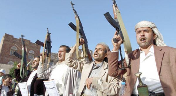 مقاتلين لجماعة الحوثي