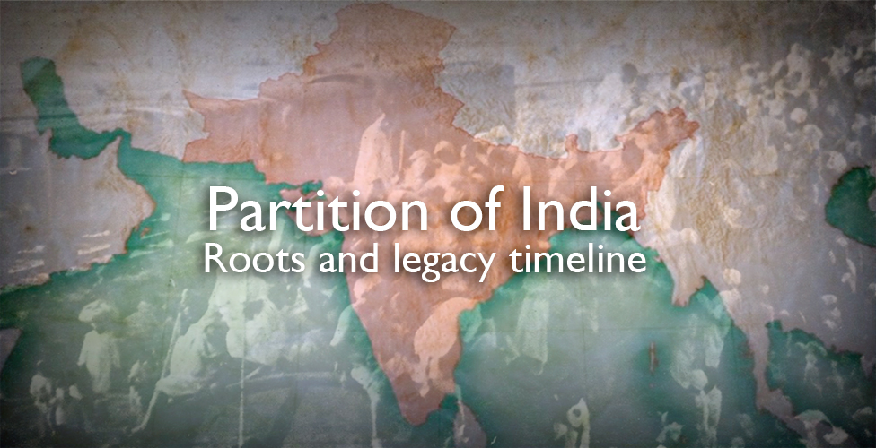 India Partition Roots and legacy - BBC News