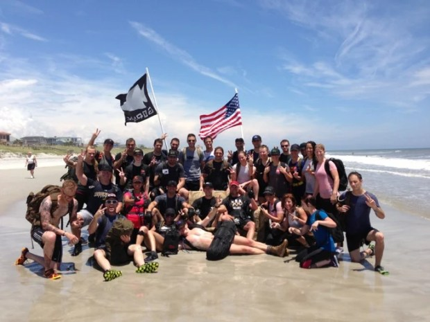 Peace and Love Committee_GORUCK Light_Jacksonville Beach