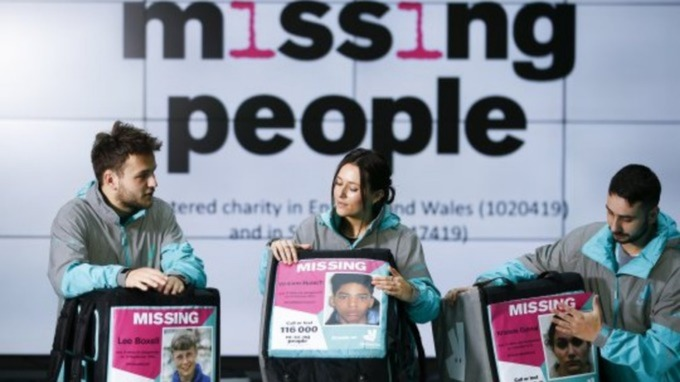 Deliveroo riders in Bristol to display missing person posters West