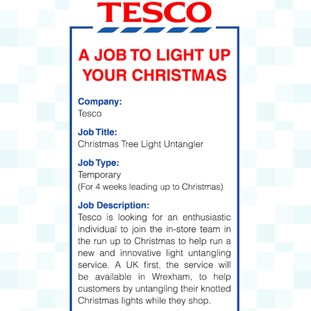Tesco Strategy Analysis Uk Essays Ukessays Are You Bright Enough For This Job Tesco Advertises For A