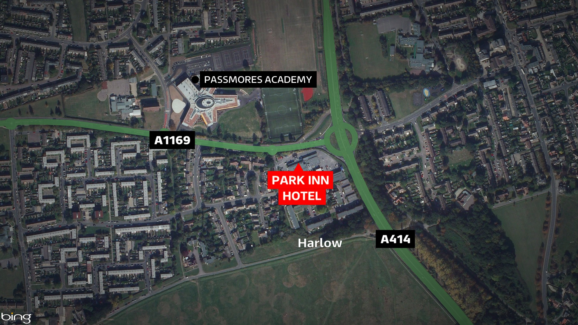 Park Inn Harlow Essex Man Dies After Being Punched Anglia Itv News