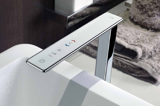 Cocinas Online Ispa Collection By Gessi. Faucets With Digital Technology