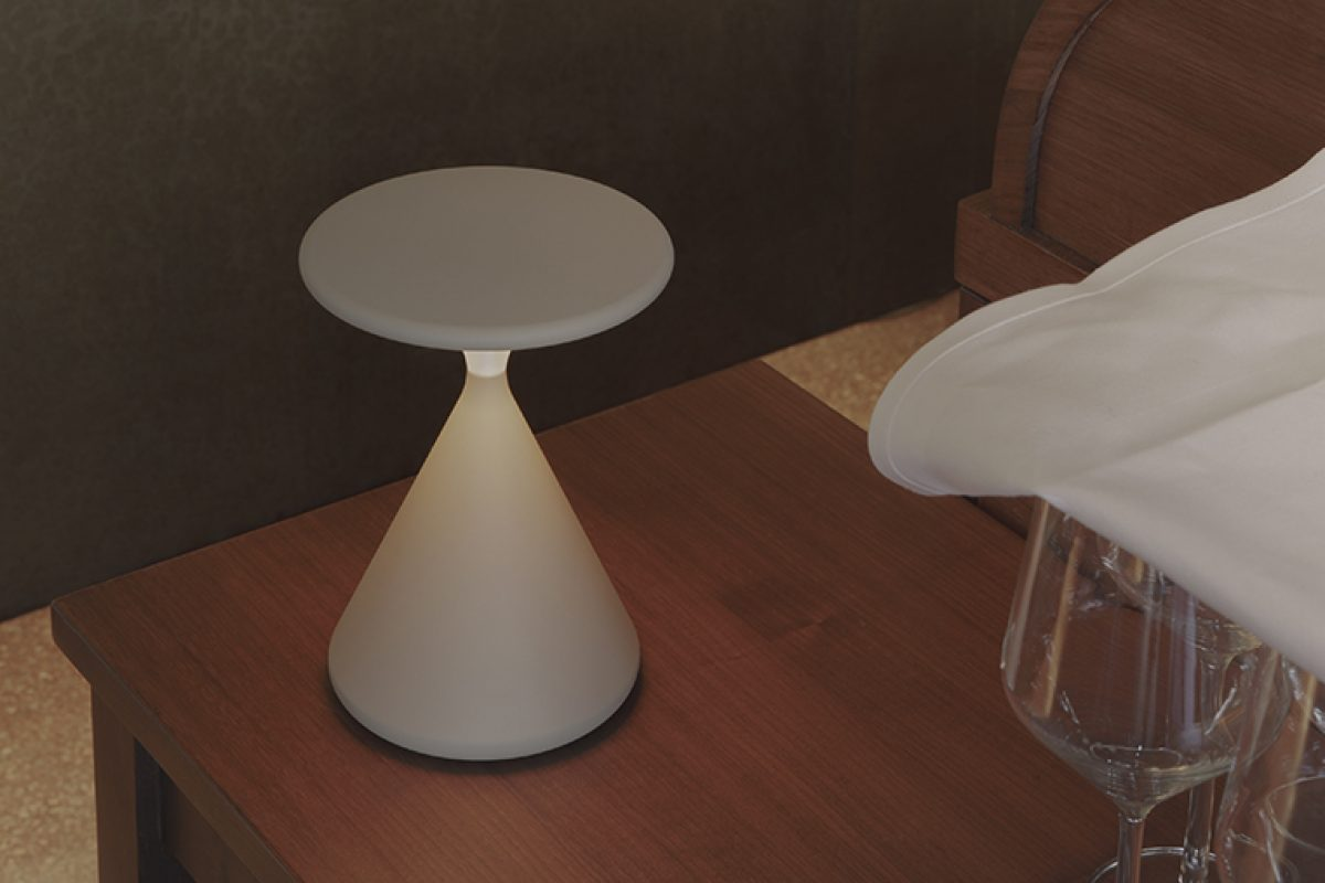 Salt Pepper Portable Lamp By Tobias Grau A Centerpiece For Any Setting News Infurma Online Magazine Of The International Habitat Portal Design Contract Interior Design Furniture Lighting And Decoration