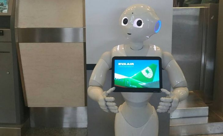 Eva Air представила нового сотрудника – робота