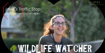 Jane's Traffic Stop: Introducing Roots & Shoots Youth Wildlife Watcher Mady