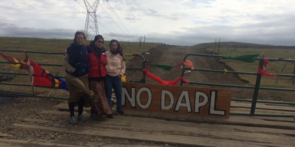 Coloradans standing in solidarity with the DAPL protestors