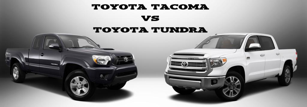 Toyota Tacoma vs Tundra MPG, Size, Towing Capacity and More