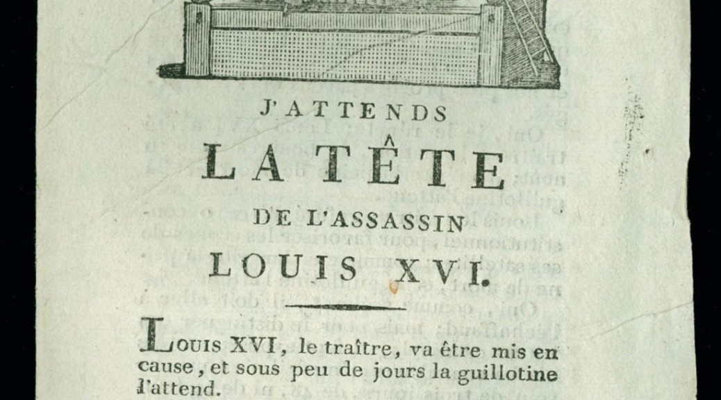 The Newberry Library digitizes 30,000 French Revolution pamphlets