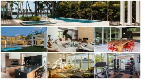 Miami Beach  home for sale on Palm Island