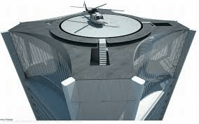 One Thousand Museum's Miami Penthouse - Heliport