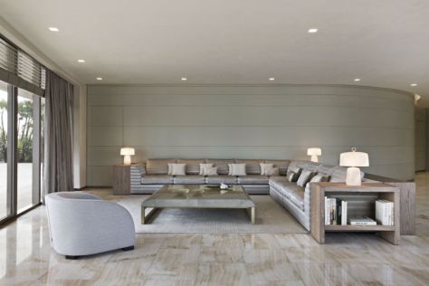 Armani Casa Residences - living room