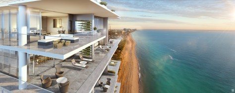 L'Atelier Miami Beach - Balcony View