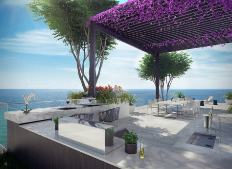 L'Atelier Miami Beach - PentHouse Summer Kitchen