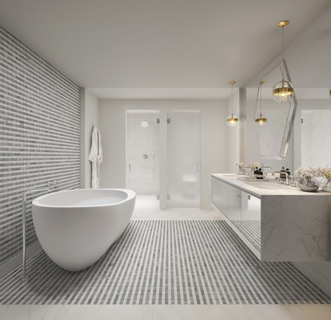 Elysee Miami Condos - Master Bathroom