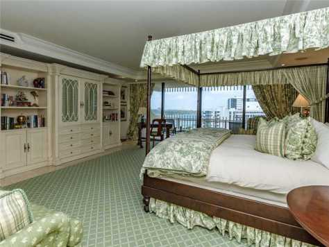 Master Bedroom unit 1602 Kenilworth Bal Harbour