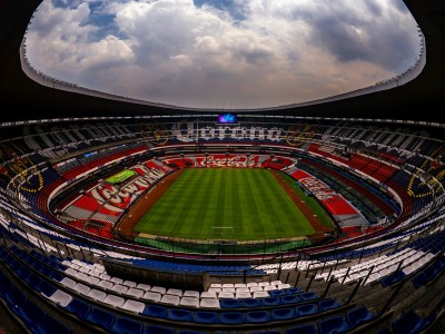 Panasonic's LED Large Screen Displays Provide an All-New Fan Experience at Estadio Azteca in ...