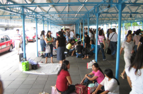 Filipina domestic helpers in Hong Kong