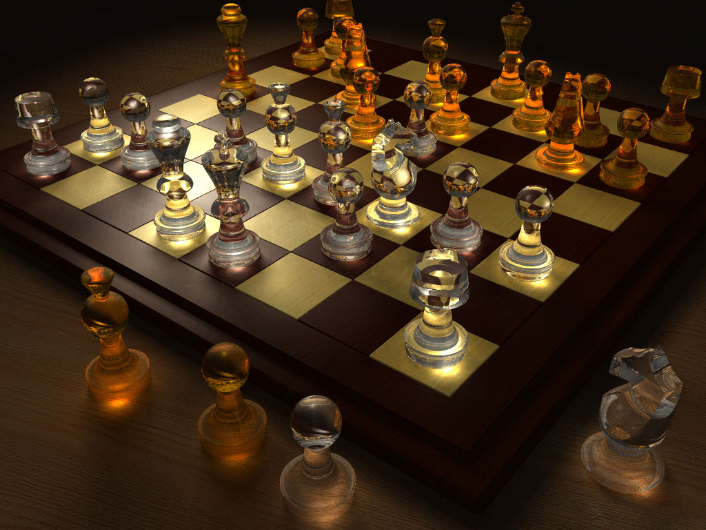 3d Server Wallpaper Pov Ray Newsgroups Povray Binaries Images My Chessboard